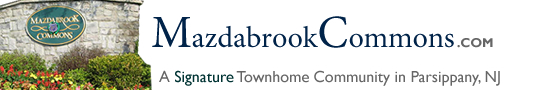 Mazdabrook Commons in Parsippany NJ Morris County Parsippany New Jersey MLS Search Real Estate Listings Homes For Sale Townhomes Townhouse Condos   Mazda brook Commons   Mazdabrook